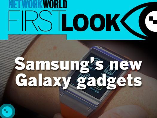 In Pictures: Samsung's new Galaxy gadgets
