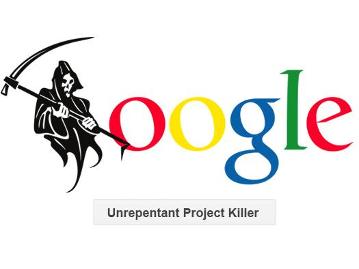 In Pictures: Google Grim Reaper. The latest killed projects