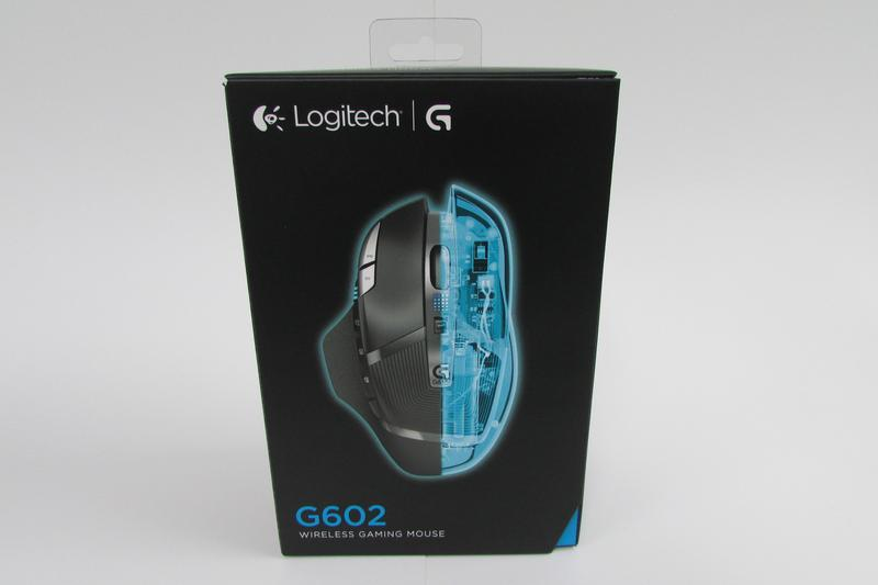 In pictures: Logitech G602 unpacked
