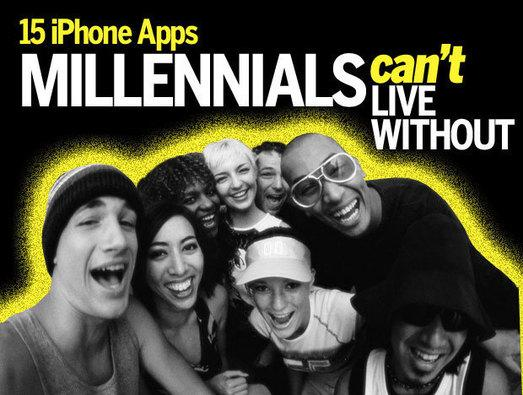 In Pictures: 15 iPhone apps millennials can't live without