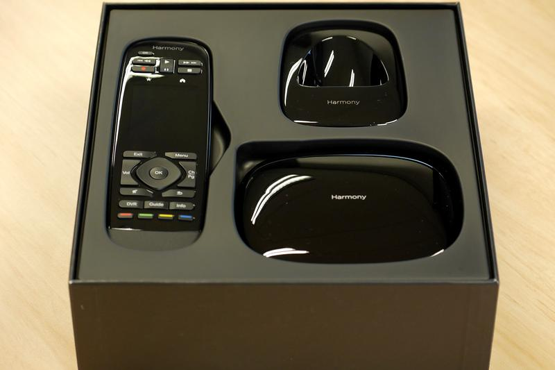 In pictures: the Logitech Harmony Ultimate remote control