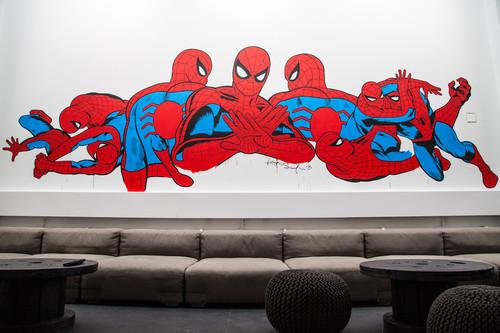 Street artists spruce Spotify's NYC office