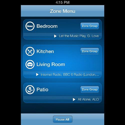 Control your Sonos music system with an iPhone
