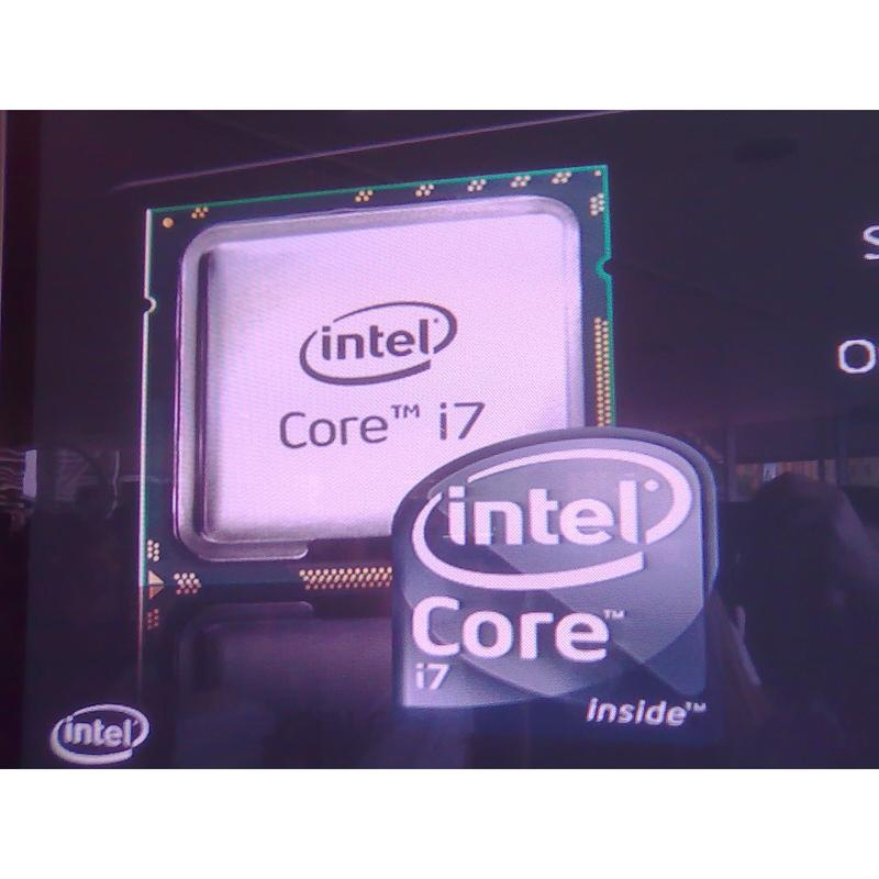 Intel's Core i7 Sydney media briefing