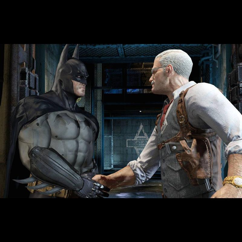 New Batman: Arkham Asylum screenshots released