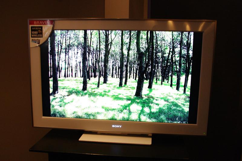 Sony's new wireless Full HD televisions