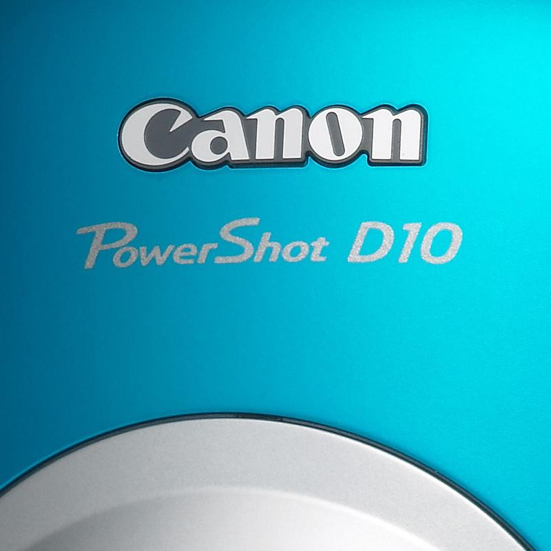 Canon's PowerShot D10 waterproof digital camera