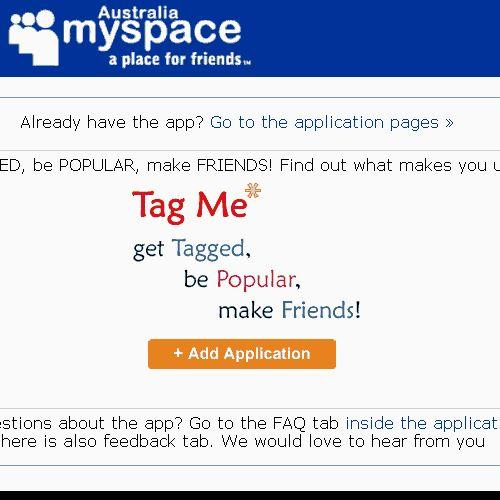 Top 10 MySpace apps Down Under