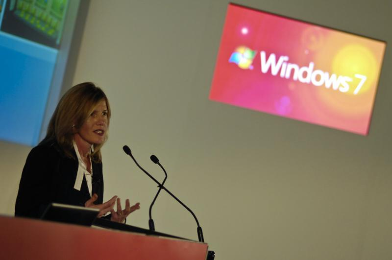Windows 7: Consumer launch low key event