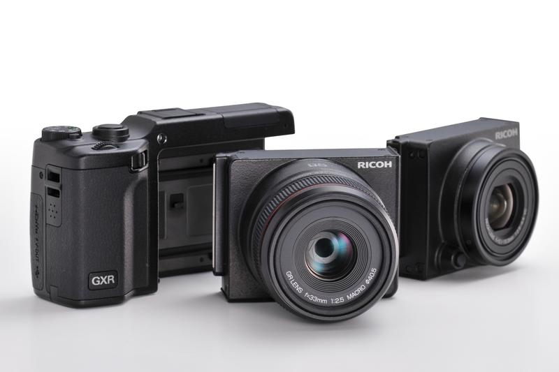 Ricoh's GXR digital camera takes interchangeable lenses to a whole new level