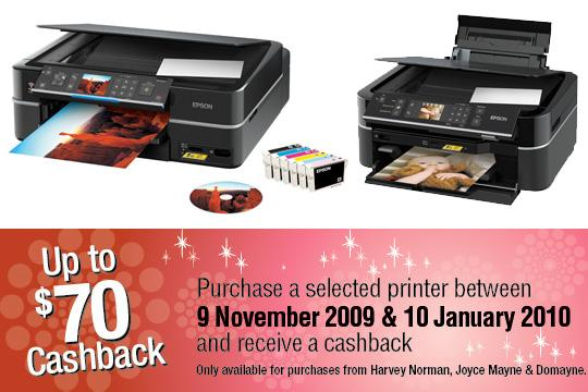 Christmas printer bargains