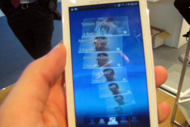 Hands-on with Sony Ericsson's first Android phone: the XPERIA X10