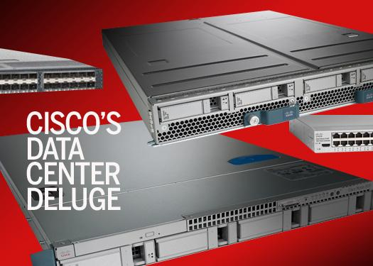 Cisco's data center deluge