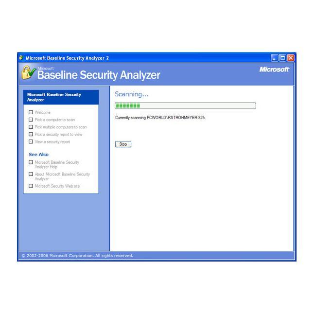 Analyse Your PC's Security