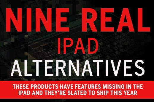 Nine real iPad alternatives