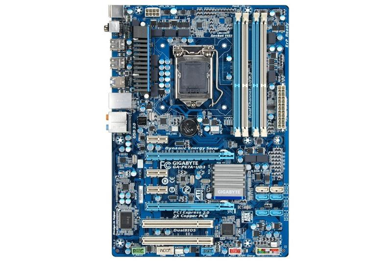In pictures: Gigabyte 6 Series motherboards