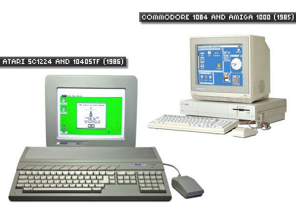 A brief history of computer displays