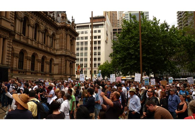 Sydney rally backs WikiLeaks