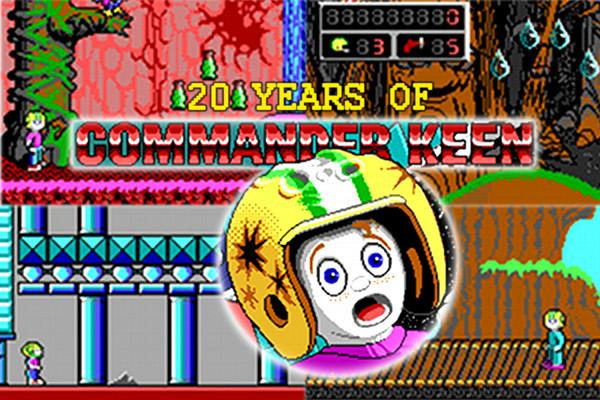 Celebrating Commander Keen's 20th anniversary