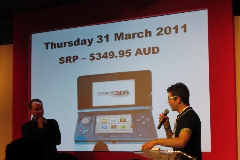 In pictures: Nintendo 3DS Australian launch