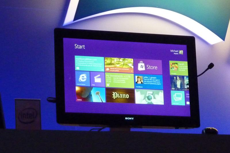 Microsoft unveils touch-oriented Windows 8
