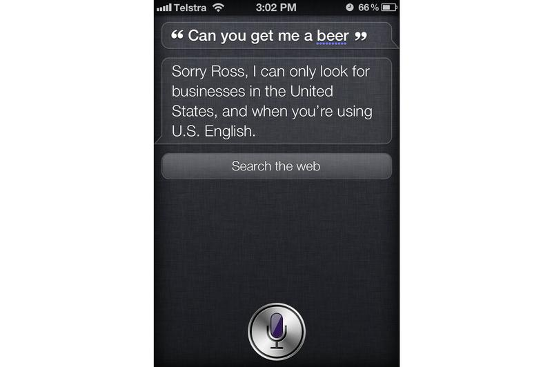 In Pictures: How Aussie is Siri, the iPhone 4S' voice assistant?