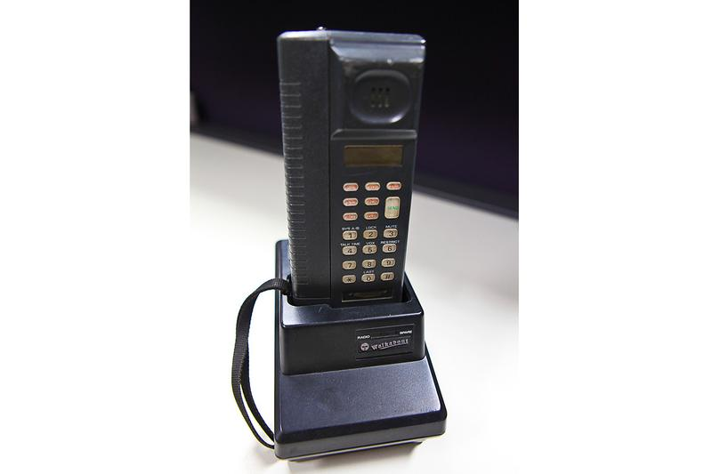 This is what Australia's first mobile phone looked like