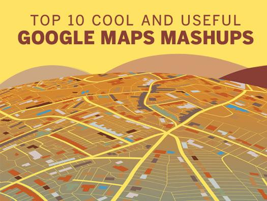In Pictures: 10 cool and useful Google Maps mashups