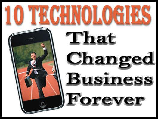In Pictures: 10 technologies that changed business forever