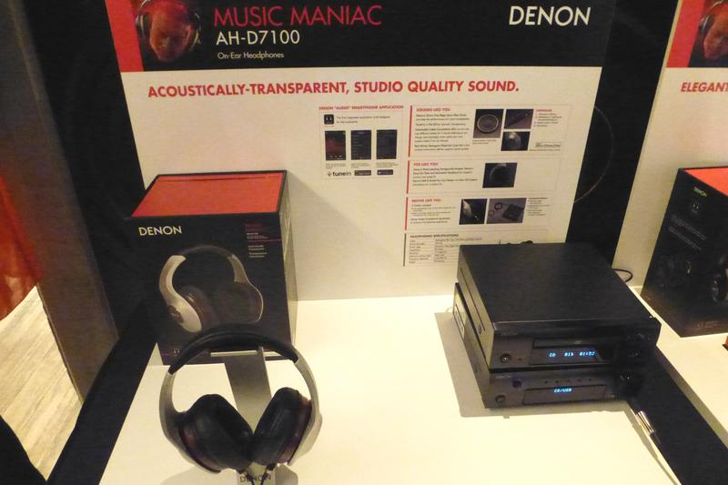 In pictures: new Denon and Marantz speaker docks and headphones