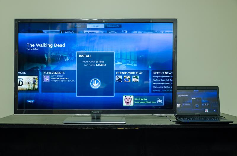 In Pictures: Steam Big Picture for TVs