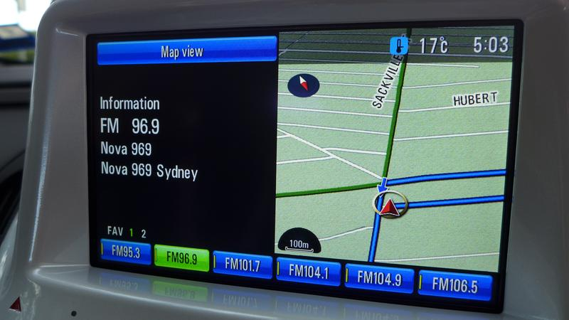 Holden Volt: A closer look at GPS satellite navigation