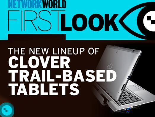 In Pictures: The new line-up of Clover Trail-based tablets