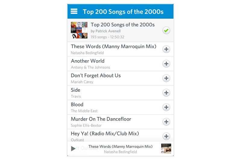 In pictures: the new Rdio app for iOS and Android