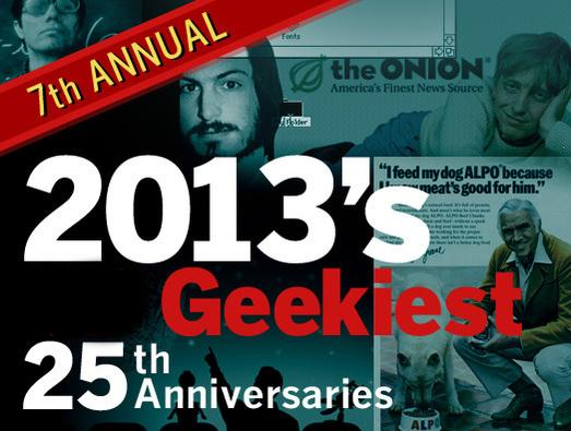 In Pictures: 2013's geekiest 25th anniversaries