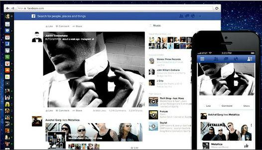 In Pictures: Facebook shows off redesigned news feed