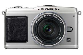 Olympus' EPL-1 micro four-thirds digital camera