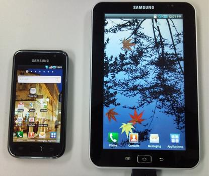 Samsung Galaxy Tape is latest in a string of Android-powered tablet devices