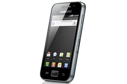 Samsung's Galaxy Ace Android phone