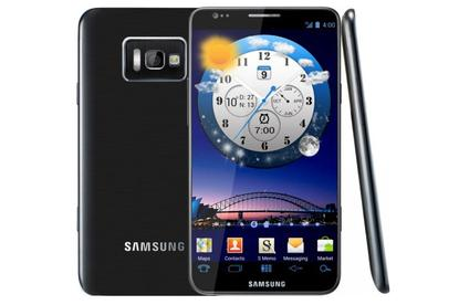 An artists impression of what the Samsung Galaxy S III may look like