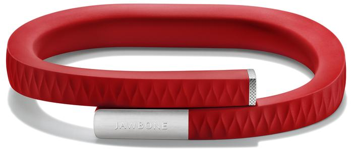 The Jawbone Up wristband.
