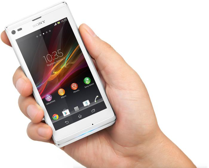 Sony claims the Xperia L