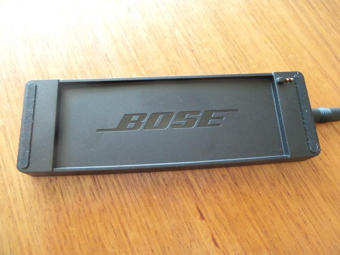 Bose includes a charging dock in the sales package.