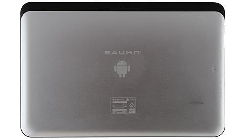 The back of the Bauhn WL-101GQC tablet.
