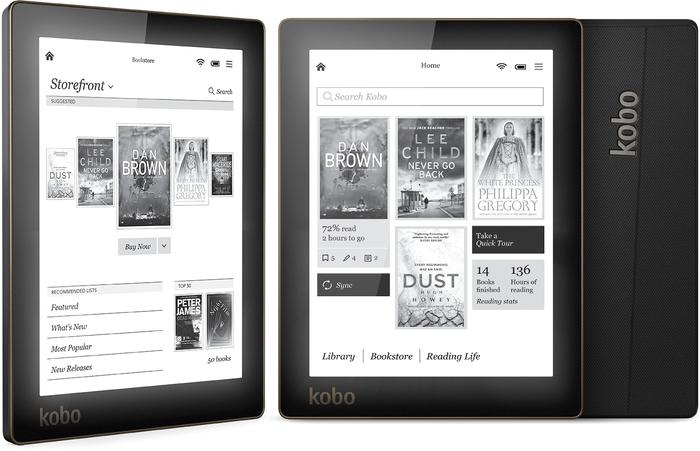 The Kobo Aura 6-inch eReader.