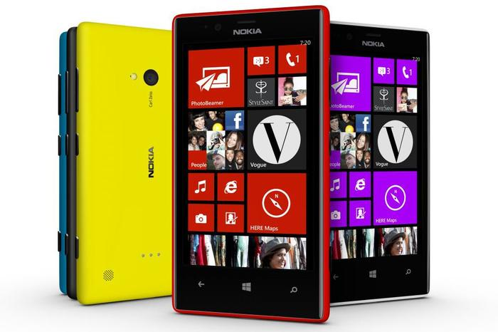 The Nokia Lumia 720