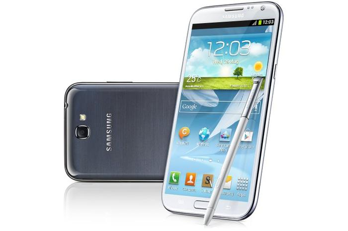 Samsung's Galaxy Note II will soon be replaced.
