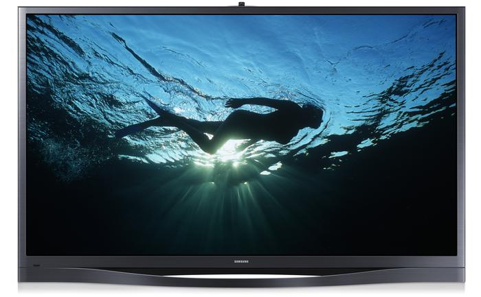 The Series 8+ plasma TV.