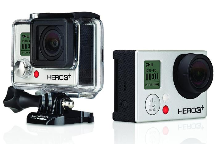 The GoPro Hero3+ Black Edition ($529).