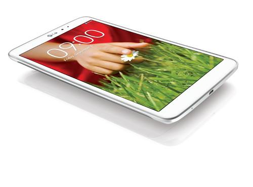 The G Pad from LG Electronics has 8.3-inc screen with a 1,920 x 1,200 pixel resolution.